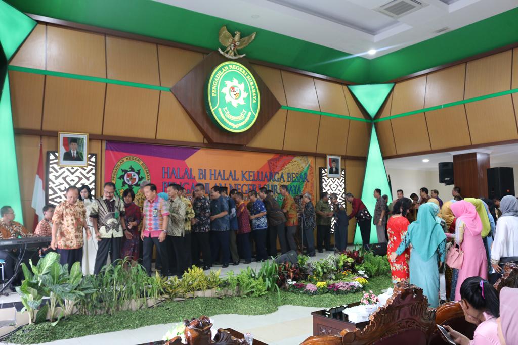 Halal Bi Halal pada Pengadilan Negeri Surabaya