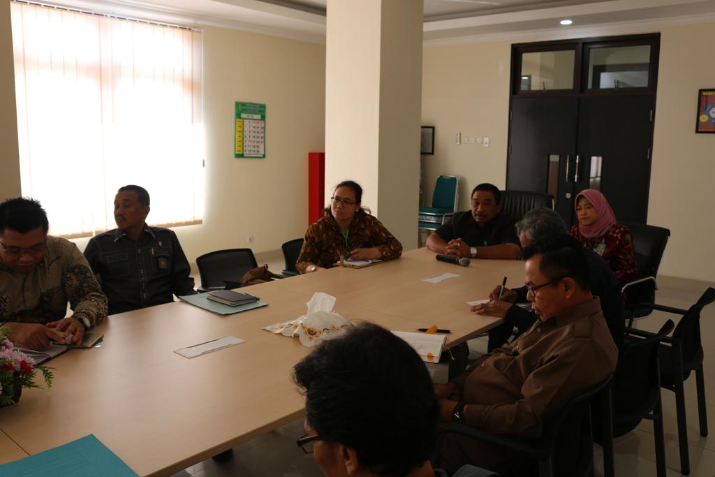 Kunjungan dari Dirjen Badilum sebagai persiapan dilaksanakannya E-Court pada Pengadilan Negeri Surabaya