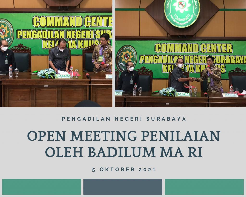Open Meeting badilum